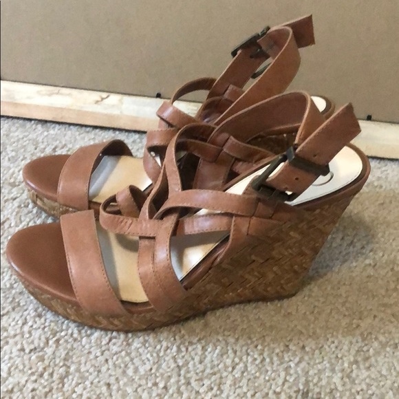 Jessica Simpson Shoes - Brown wedges